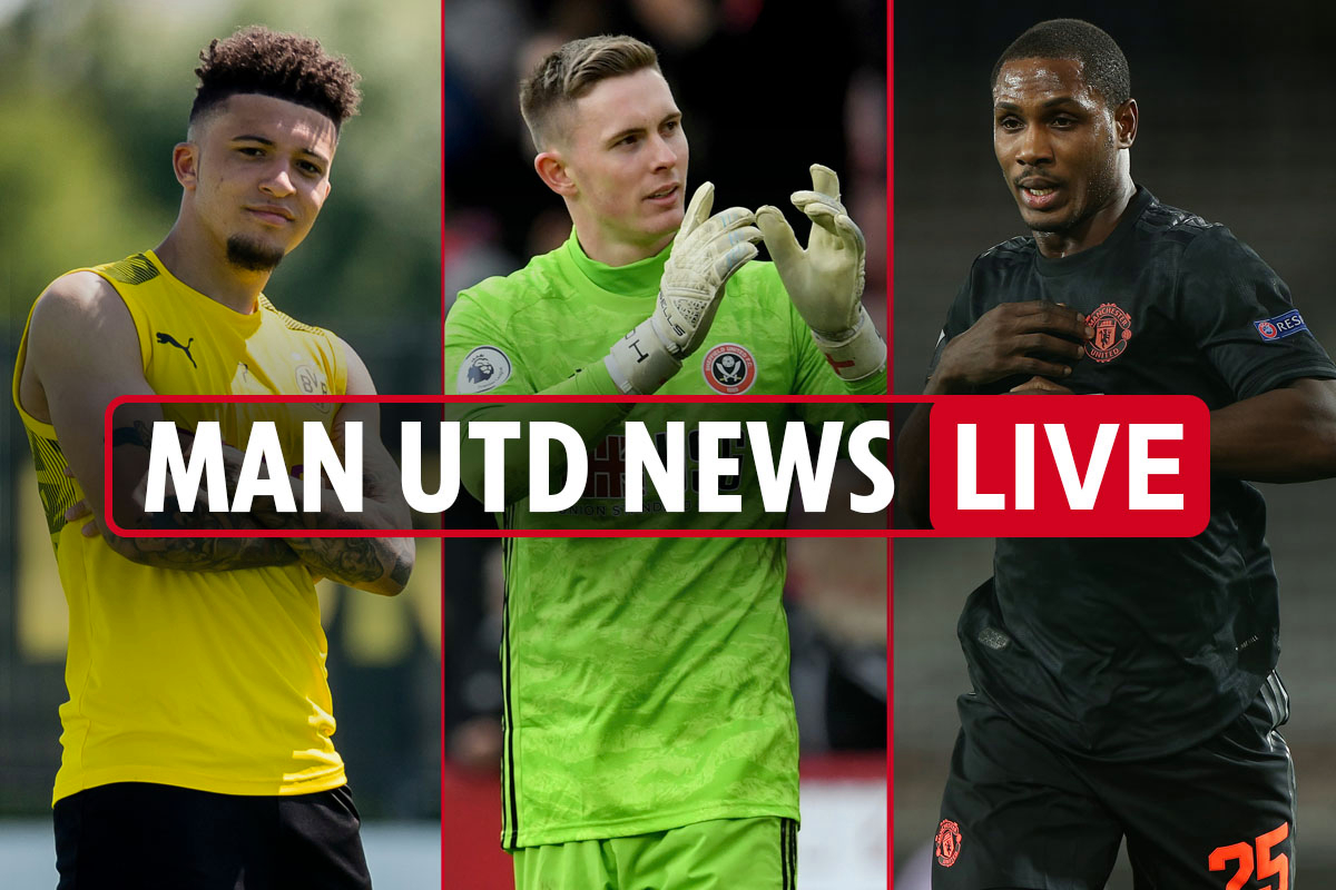 1pm Man Utd news LIVE: Ighalo set to leave TOMORROW, Jadon Sancho transfer LATEST, Dembele update, Sanchez's Inter stay