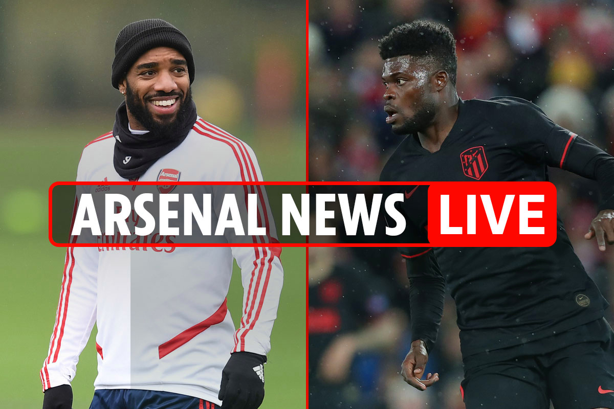 9pm Arsenal news LIVE: Partey transfer 'delayed by coronavirus', Dembele to 'replace Lacazette', Coutinho LATEST