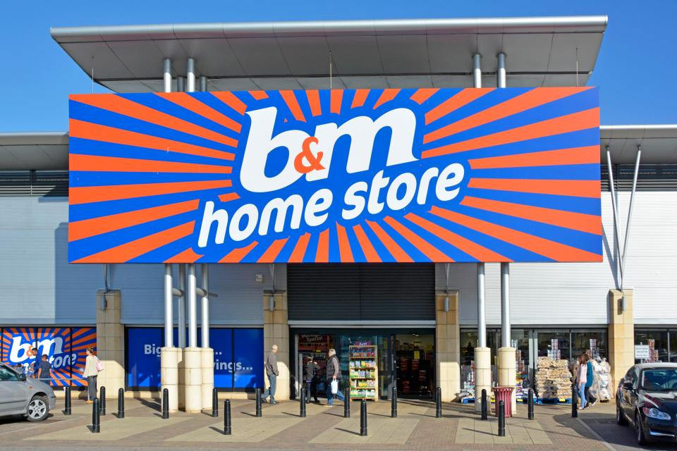 B&M May bank holiday opening times – here's what time stores open on Monday