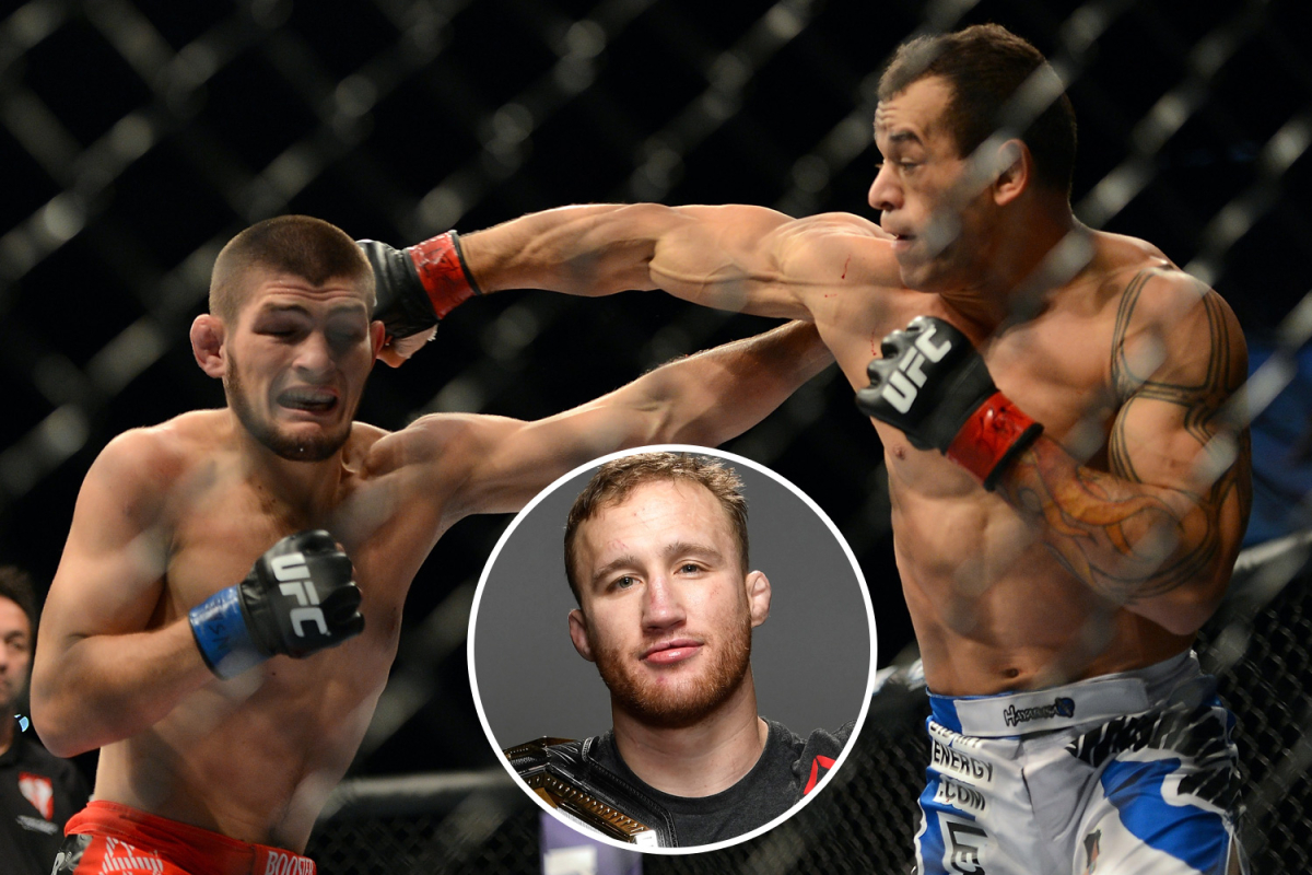 Justin Gaethje clams UFC champ Khabib is NOT undefeated and insists he actually LOST second fight vs Brazilian Tibau