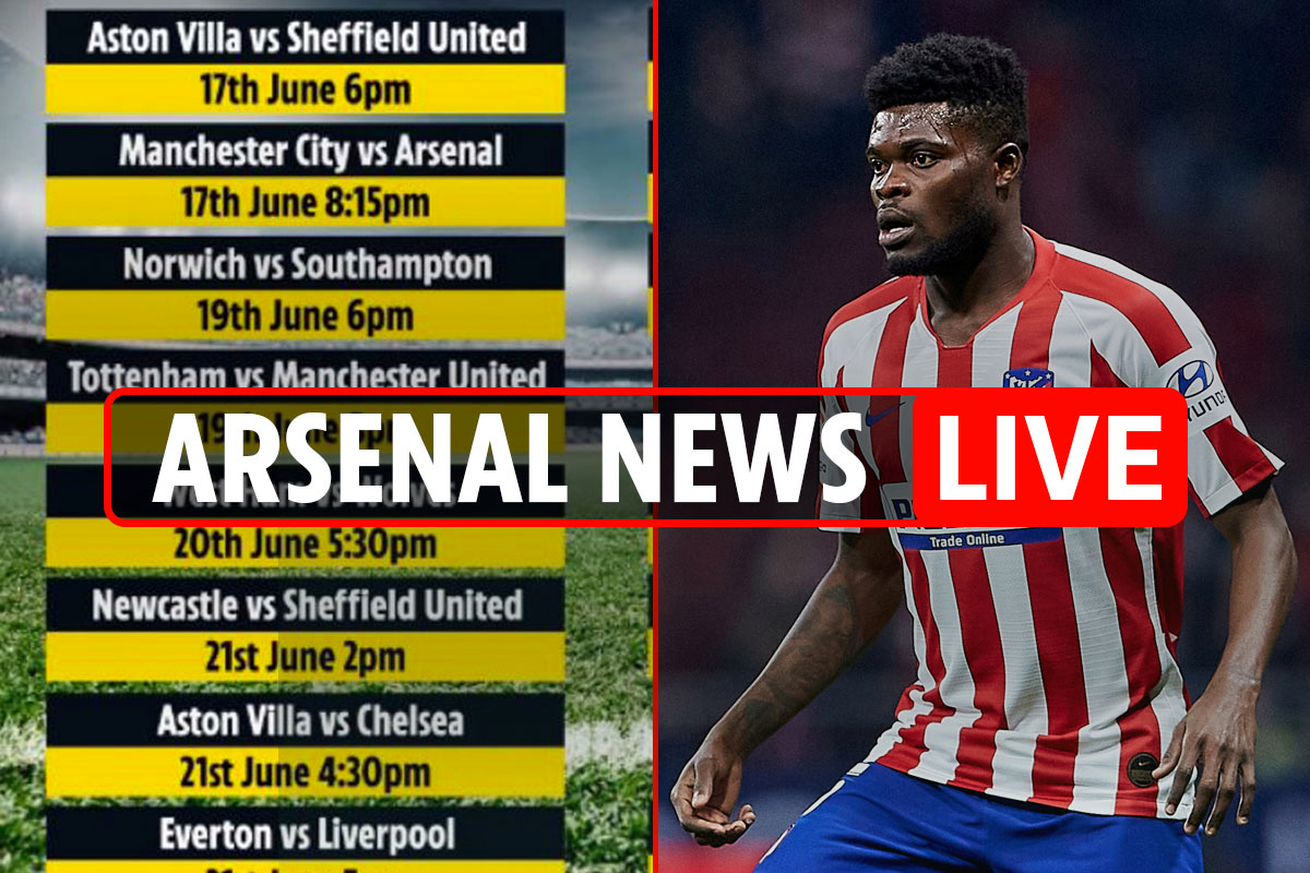 9pm Arsenal news LIVE: Partey expects Gunners transfer, Premier League fixtures LATEST, Aubameyang boost, Milik link