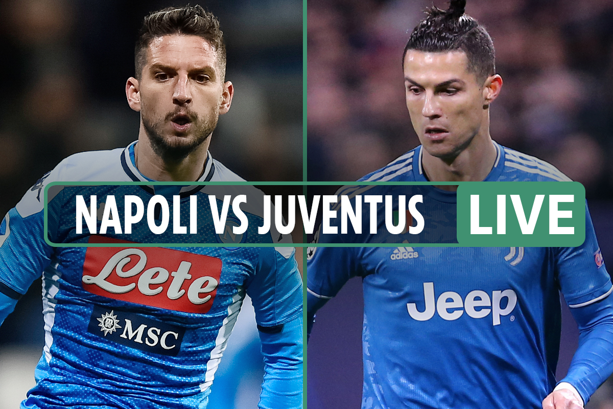 Coppa Italia final – Napoli vs Juventus LIVE: Stream FREE, TV channel, UK time and team news from Stadio Olimpico