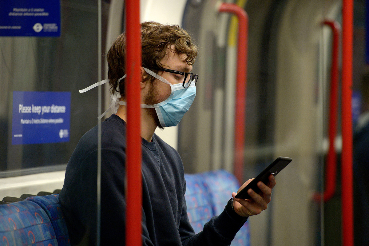 Coronavirus UK LIVE: R rate rises above 1 in England and commuters without face coverings face fine as deaths hit 41,481
