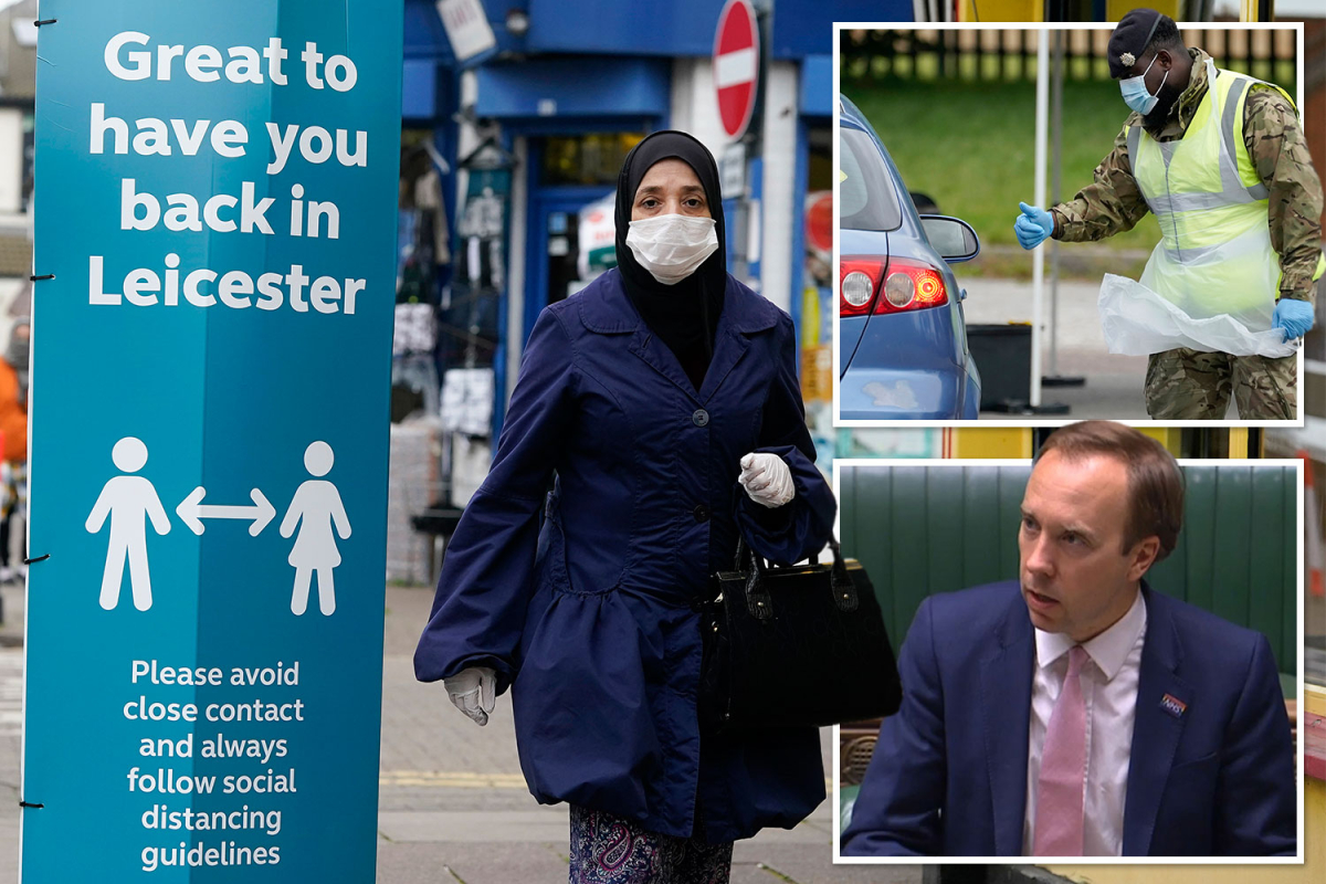 Leicester becomes first local lockdown after spike in coronavirus infections with schools and shops ordered to shut