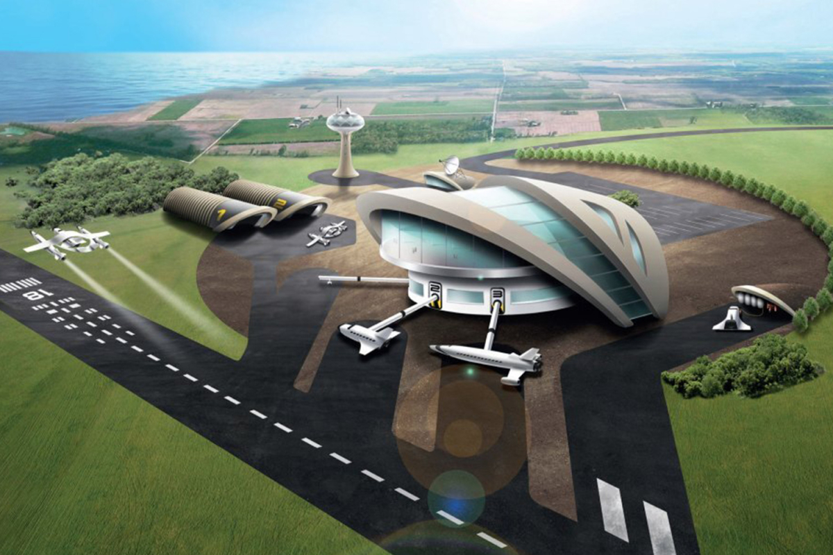 Spaceport in CORNWALL 'where tourists will blast into orbit' is a step closer after space bosses sign launch agreement