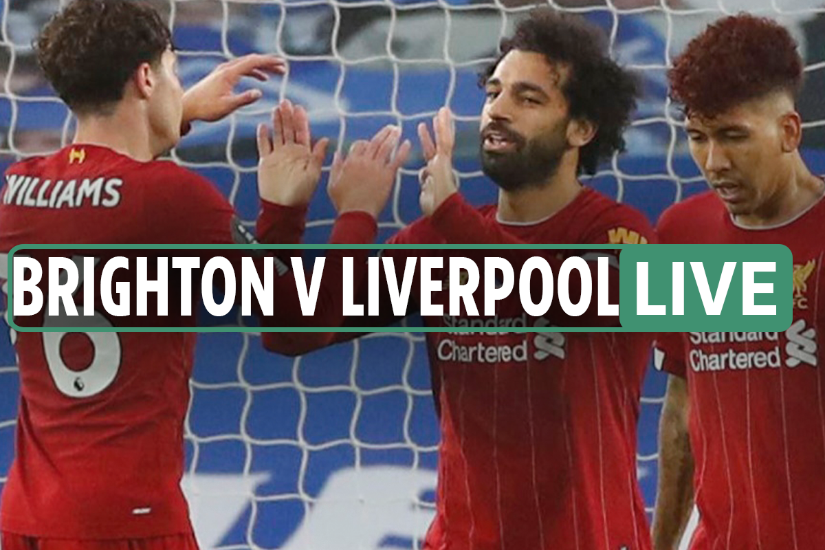 Brighton 1-2 Liverpool LIVE: Stream, TV channel, kick off time, team news for TONIGHT'S Premier League match