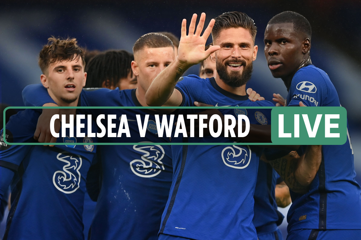 Chelsea vs Watford LIVE SCORE: Red-hot Willian scores sixth in seven games – stream, TV, Premier League latest updates