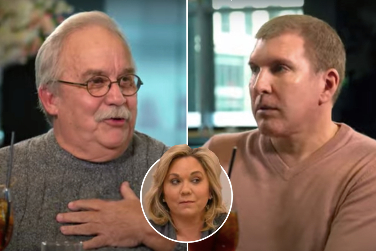 Chrisley Knows Best patriarch Todd slams wife Julie's dad as 'the most stubborn, self-centered human' he's ever known