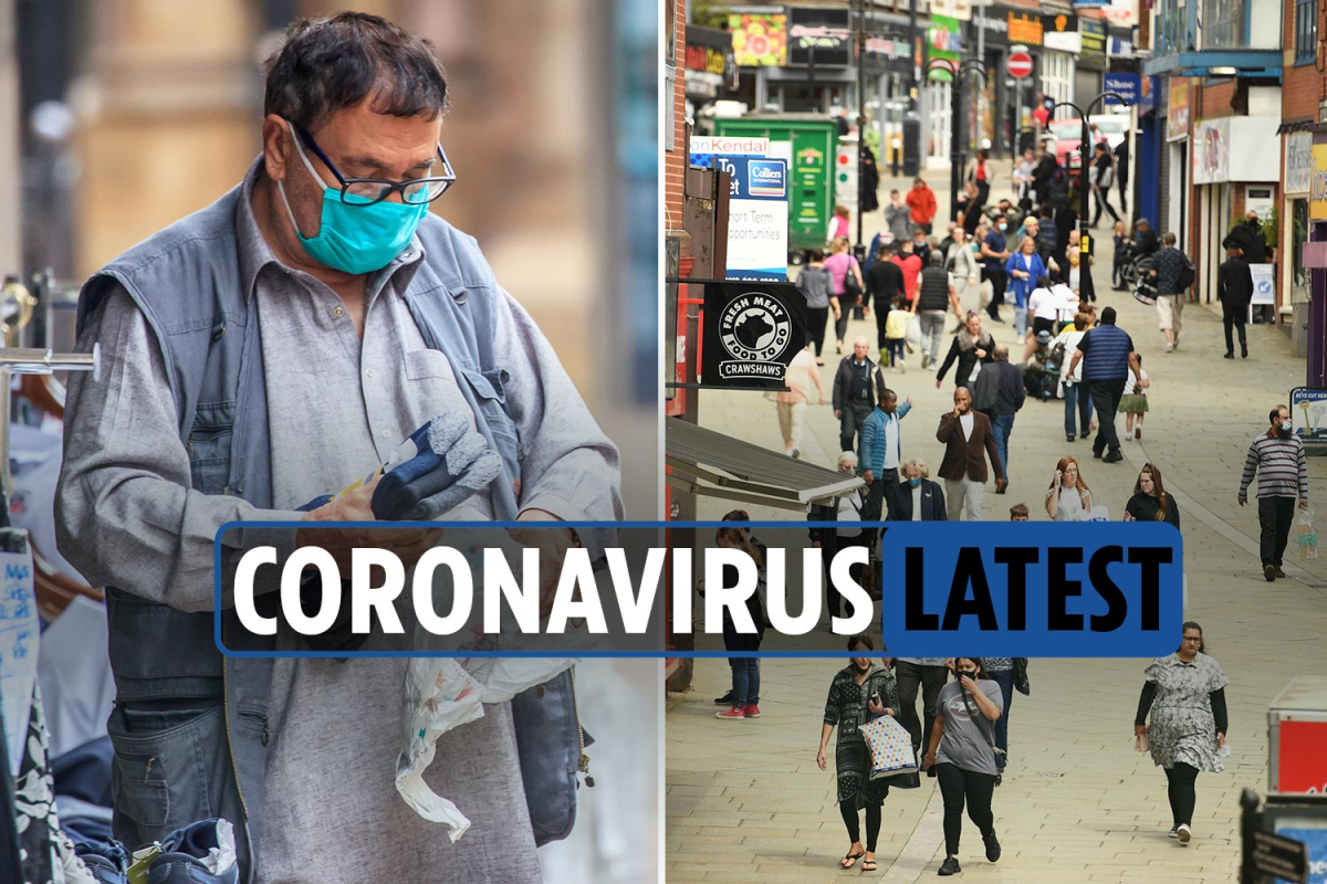 Coronavirus UK news LIVE: Greater Manchester hit with lockdown restrictions as deaths reach 45,999
