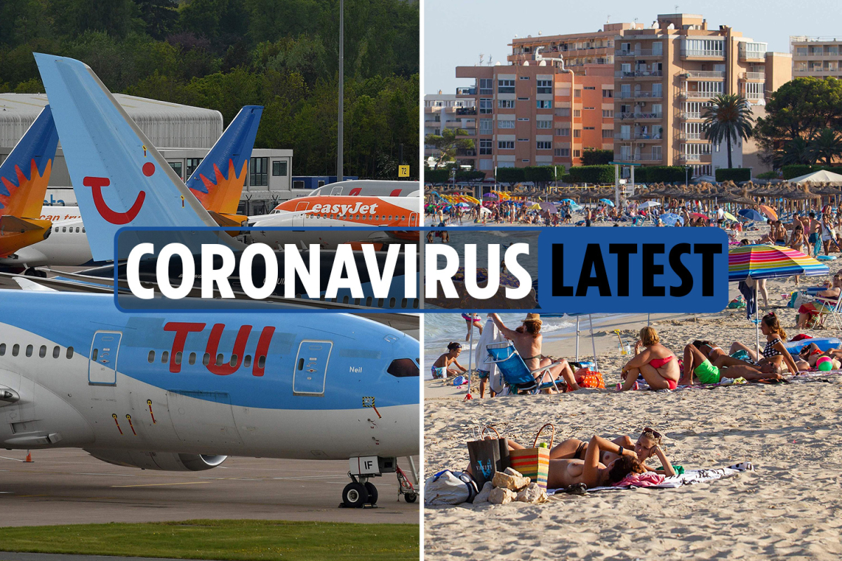 Coronavirus news LIVE: Spain quarantine to be cut to 10 days after Jet2 and TUI cancel flights and UK deaths hit 45,759