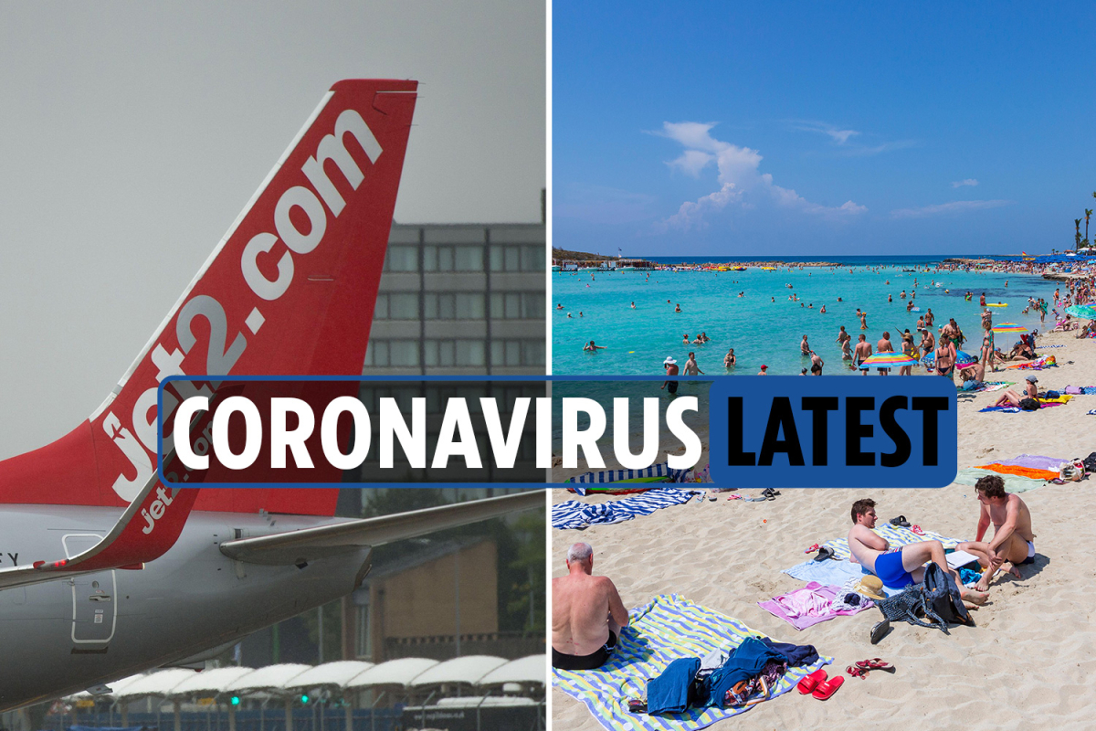 Coronavirus travel news LIVE: Jet2 cancel Cyprus flights and Germany 'cannot avoid' second wave as UK deaths hit 45,961