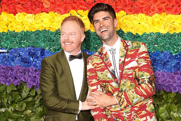 Modern Family star Jesse Tyler Ferguson and Justin Mikita are 'over the moon' following the birth of their first child