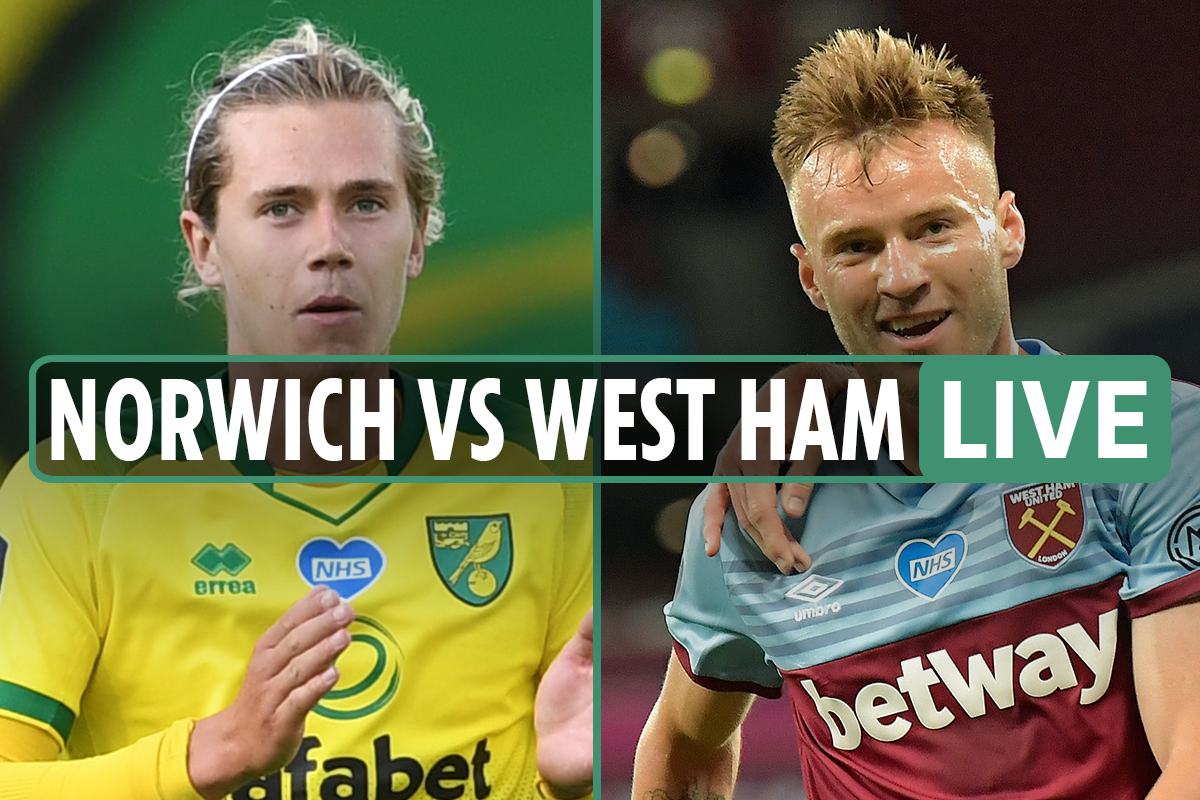 Norwich vs West Ham LIVE: Stream FREE, TV channel with Norwich set to be RELEGATED after Antonio goal – Premier League
