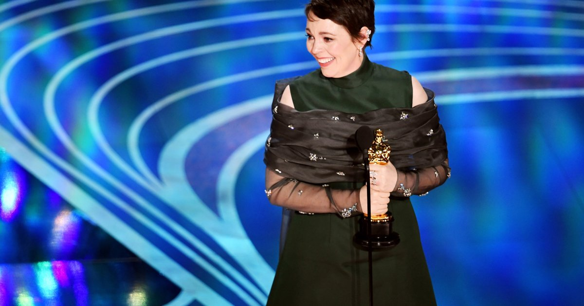 The 2020 Remix of Olivia Colman's Oscar Speech Is Required Viewing