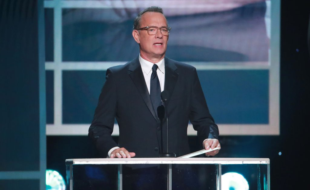 Tom Hanks Got Talking With Stephen Colbert About His Coronavirus Symptoms