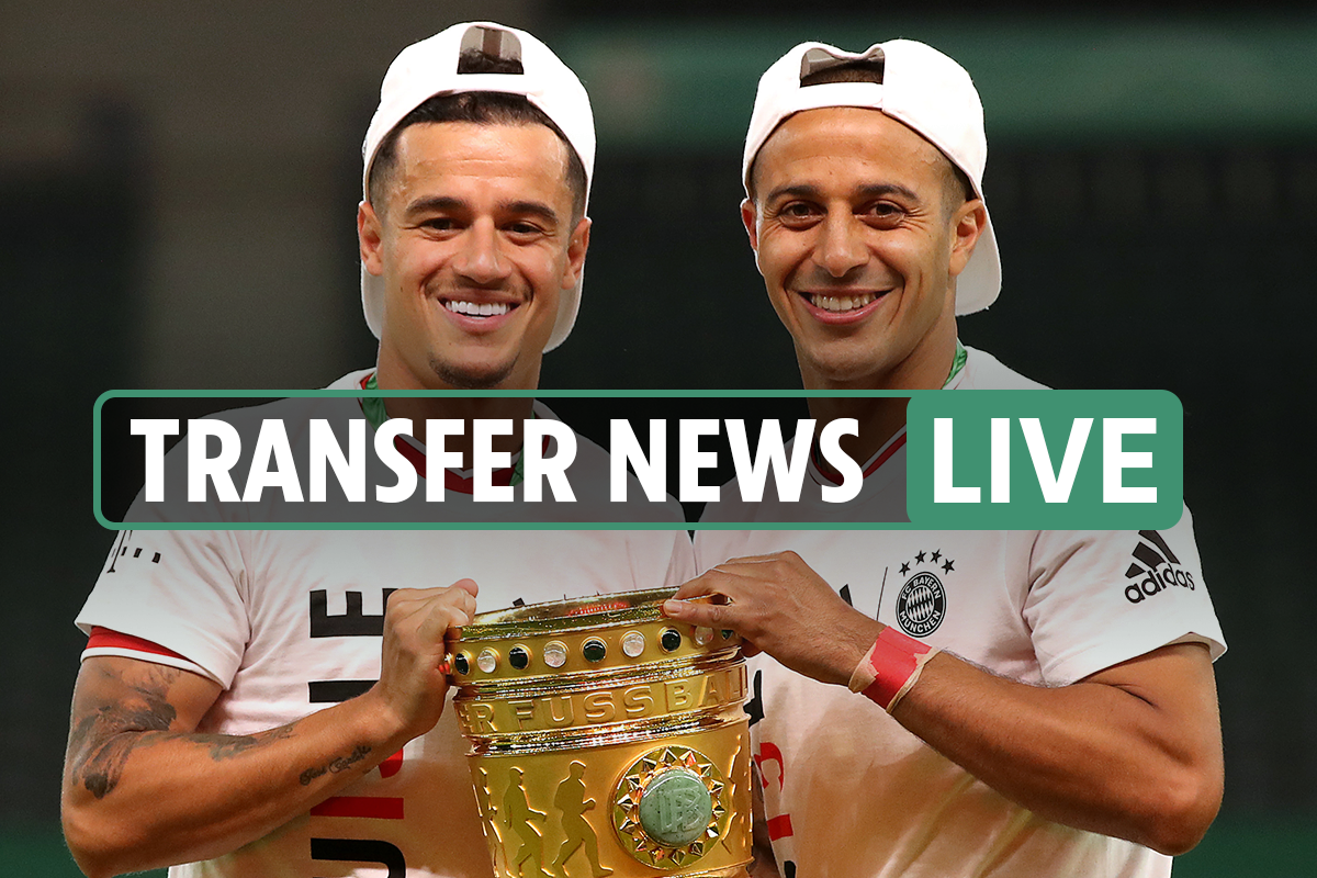 Transfer news LIVE: Immobile to EVERTON, Coutinho LATEST – Liverpool, Tottenham, Man City LATEST gossip and rumours