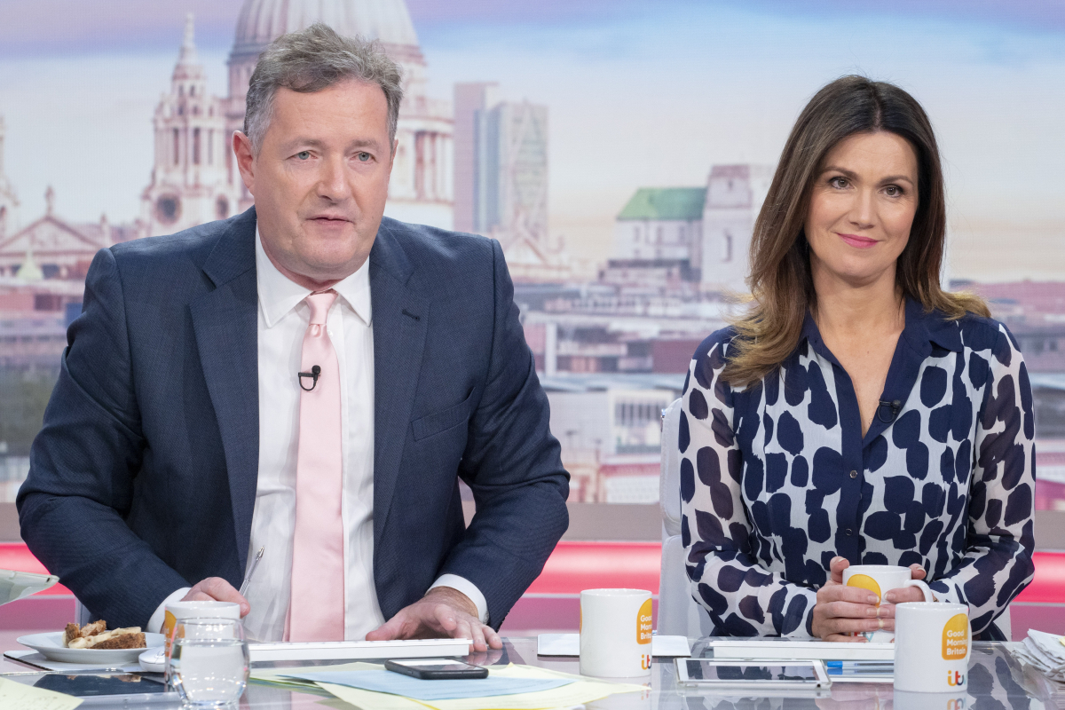 Where are Piers Morgan and Susanna Reid and why aren't they on GMB today?