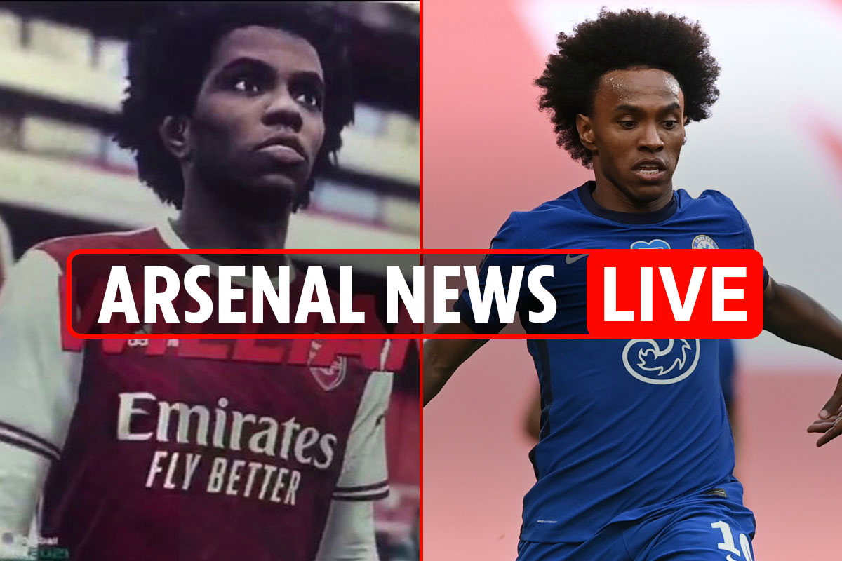 4pm Arsenal transfer news LIVE: Willian 'WELCOME TO THE EMIRATES' message on PES, Boateng BOOST, Aubameyang LATEST