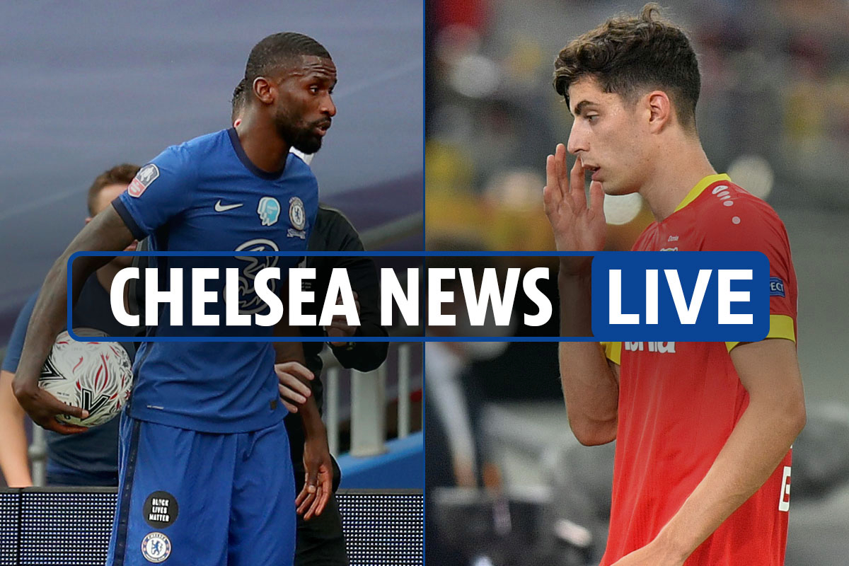 9am Chelsea transfer news LIVE: Kai Havertz '£72m deal after Europa League', Rudiger to Liverpool, Declan Rice LATEST