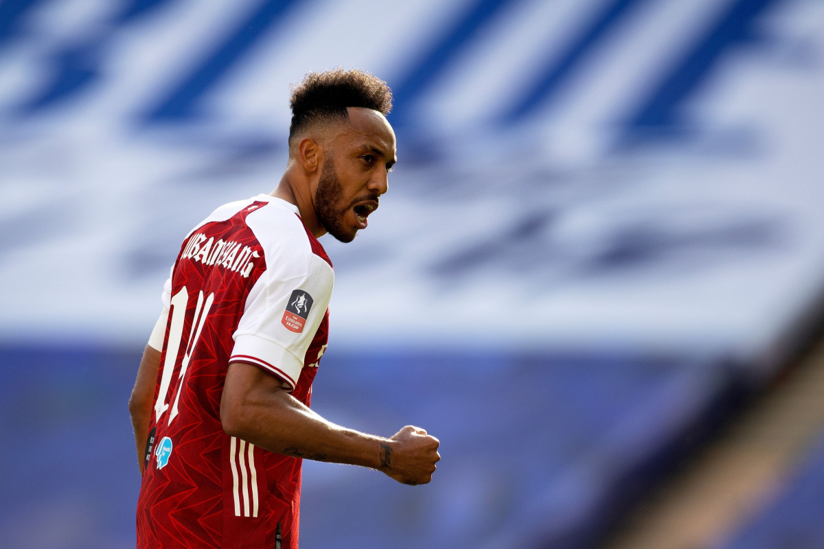 Aubameyang refuses to commit future to Arsenal despite his double firing Gunners to FA Cup final glory over Chelsea