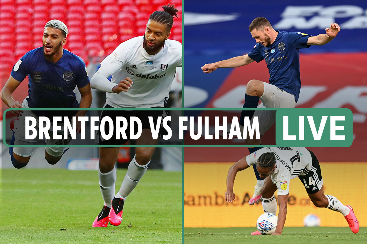 Brentford vs Fulham – Championship play-off final LIVE: Score, stream and updates from Wembley as Mitrovic benched