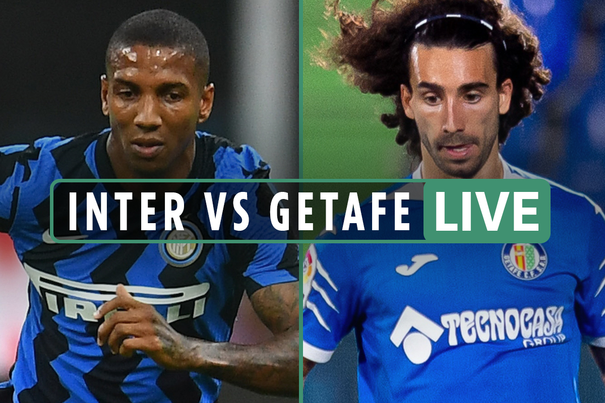 Inter vs Getafe LIVE: Stream free, score, TV channel and teams – Europa League round of 16 latest updates