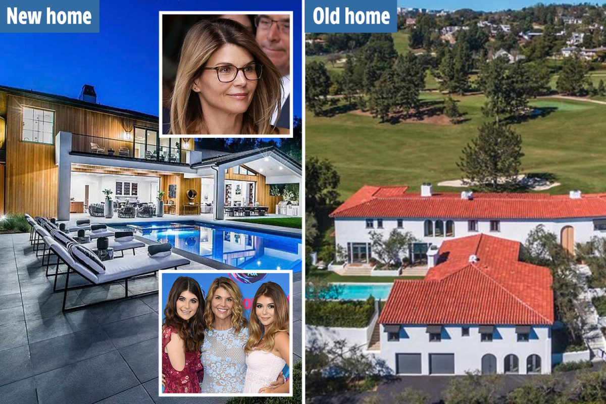 Lori Loughlin and husband downsize from $28M mansion to smaller $9.5M home as they face jail over admission scandal