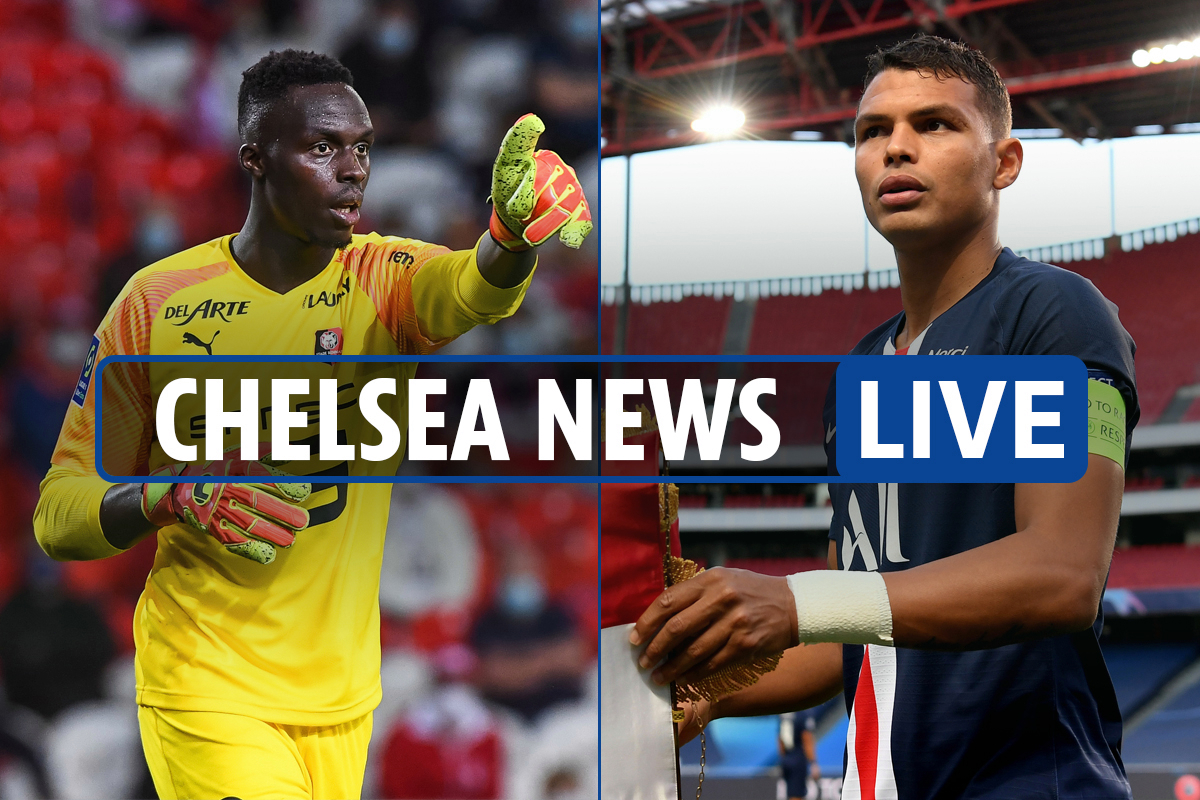 12pm Chelsea transfer news LIVE: Mendy 'has ALREADY SIGNED', Thiago Silva set to face Wimbledon TODAY, Rice LATEST