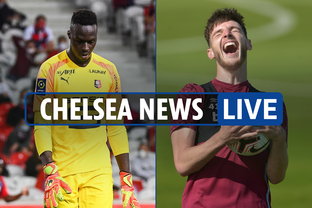 1pm Chelsea transfer news LIVE: Rice offer 'WILL be made', Mendy says goodbye to Rennes team-mates, Kepa LATEST