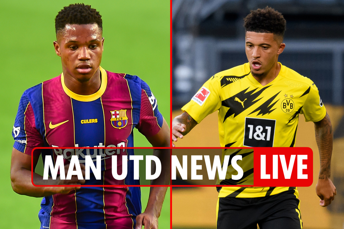 9.30pm Man Utd transfer news LIVE: Sancho bid UPDATE, Alex Telles EXCLUSIVE, Ansu Fati targeted, Smalling future latest