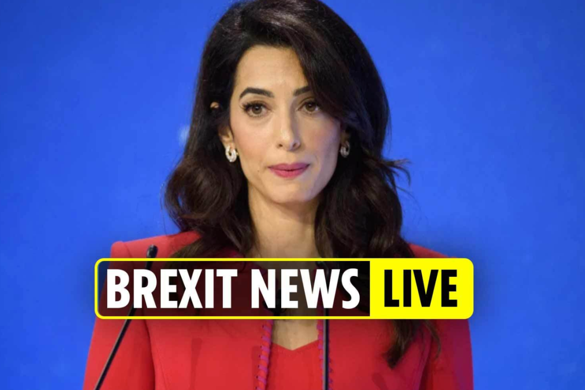 Brexit news LATEST – Amal Clooney QUITS UK government job in fury at Boris' controversial Brexit bill