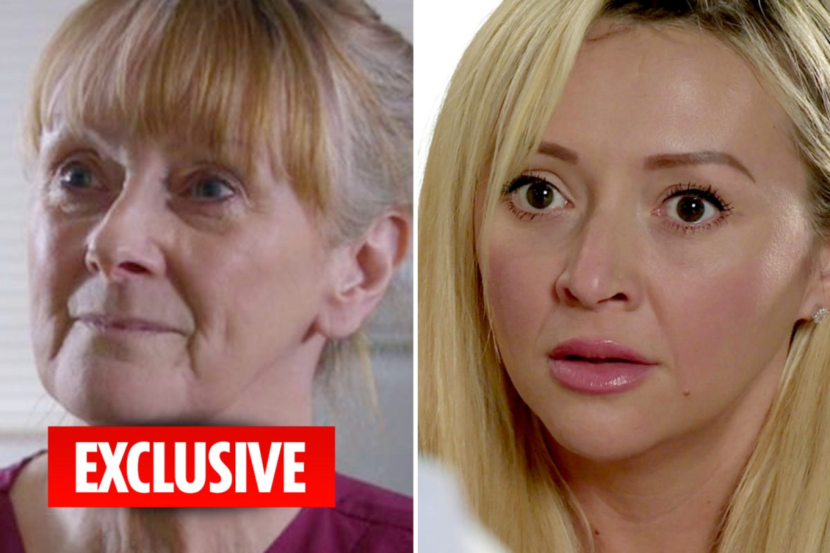 Coronation Street cast Brookside and Emmerdale legend Eithne Browne as prostitute Nicky's mum