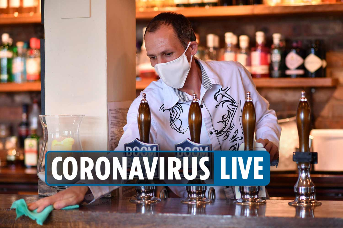 Coronavirus UK news 12am – Rule of six comes into force TOMORROW as Boris Johnson 'could introduce 10pm curfew on pubs'