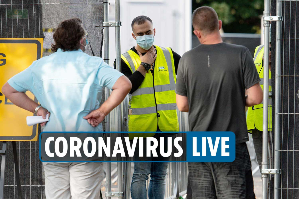 Coronavirus UK news 8am– Winter Eat Out to Help Out 'under review' as Brits blast covid test chaos that could last weeks