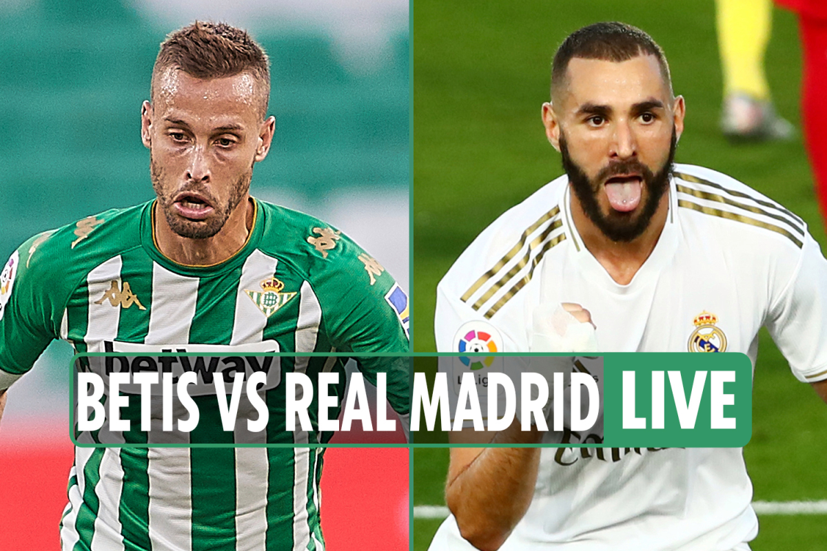 Real Betis vs Real Madrid LIVE SCORE: Ramos nets late from the spot for Los Blancos – stream, TV, La Liga latest updates
