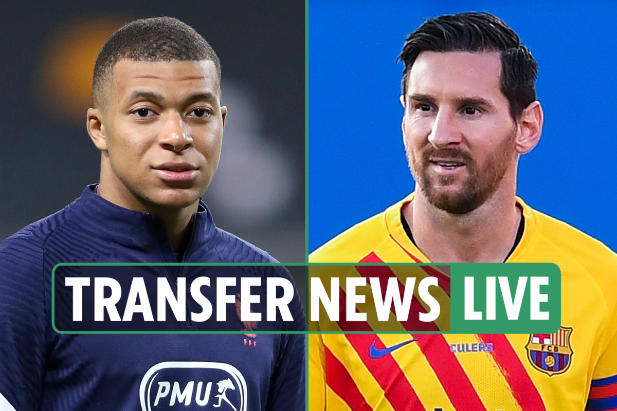 Transfer news LIVE: Mbappe 'tells PSG he wants to LEAVE', Messi plays in Barcelona friendly, Bale's Real Madrid pay-off