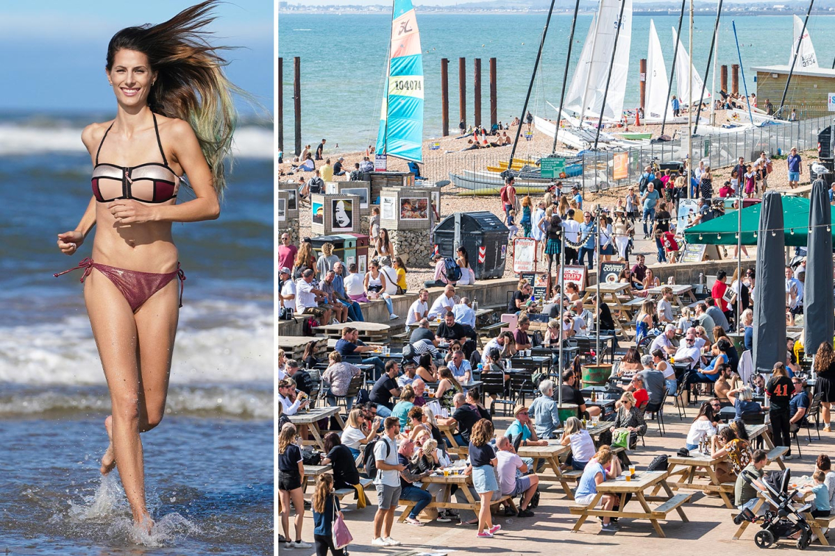 UK weather forecast – Brits to bake in 48-hour 31C heatwave from TODAY in one last blast of summer