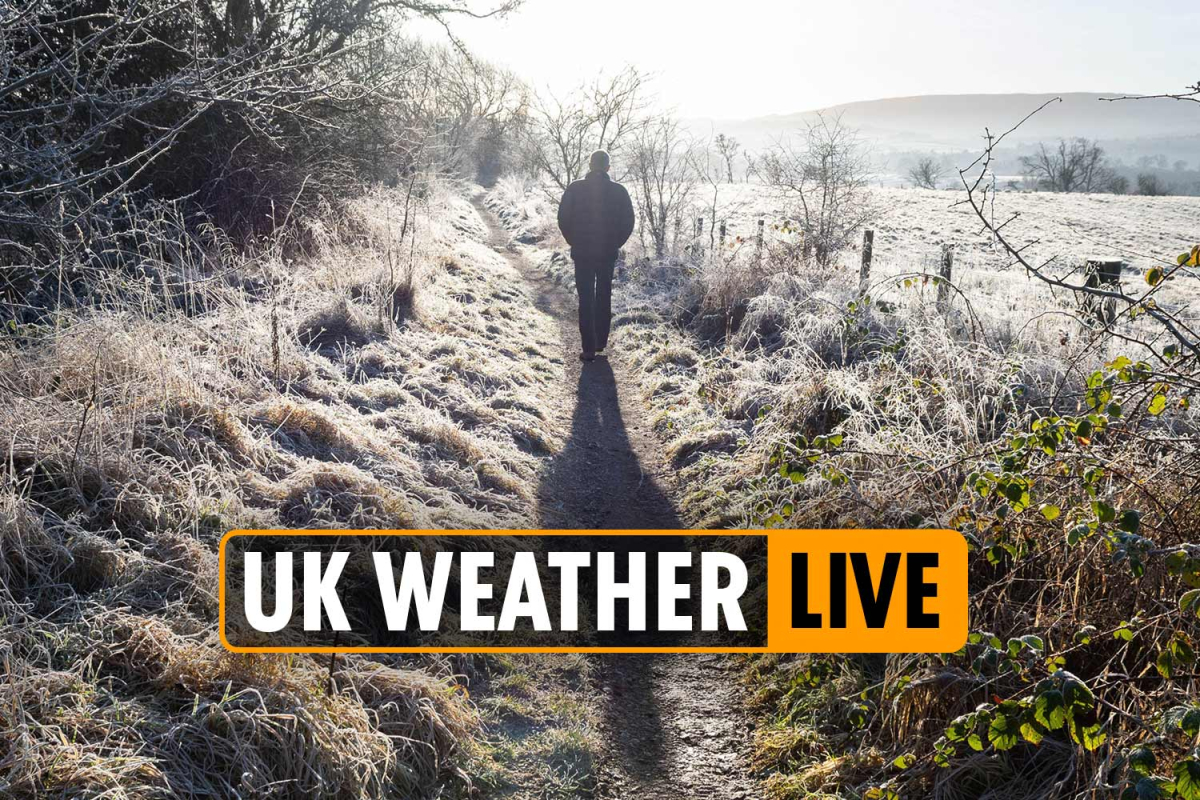 UK weather forecast TODAY – Arctic blast to TORPEDO heatwave as Britain braces for cold front