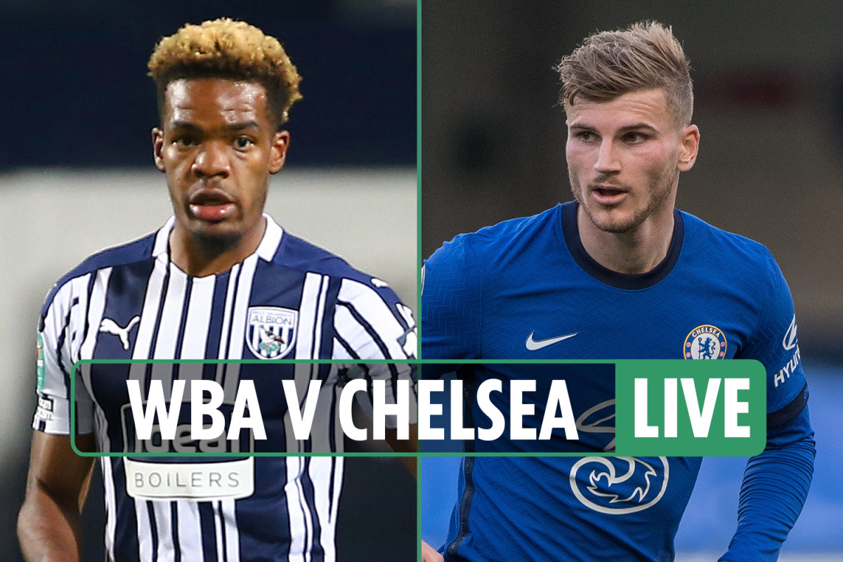 West Brom vs Chelsea LIVE: Stream, score, as Werner smashes bar with Blues behind – TV, Premier League latest updates