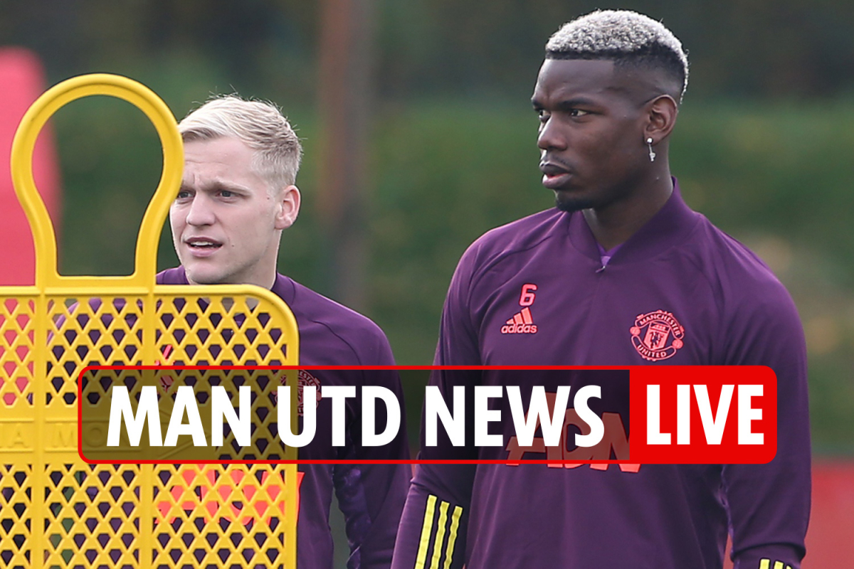 11.45am Man Utd news LIVE: Pogba in 'France quit threat', Van de Beek latest, Romero 'wants contract cancelled'