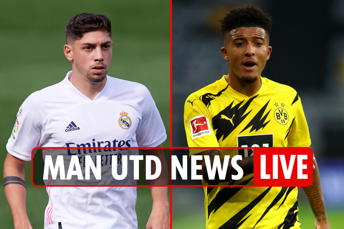 8pm Man Utd news LIVE: Luis Gomes £14m transfer deal AGREED, Sancho still available for £108m, Valverde-Pogba 'exchange'