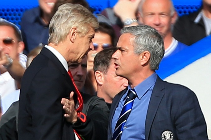Arsenal icon Arsene Wenger mocked by Jose Mourinho as Tottenham boss says he wasn't in rivals book 'as he never beat me'