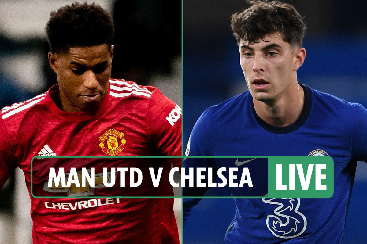 Man Utd vs Chelsea: Live stream, TV channel, teams and kick-off time for TODAY'S Premier League game