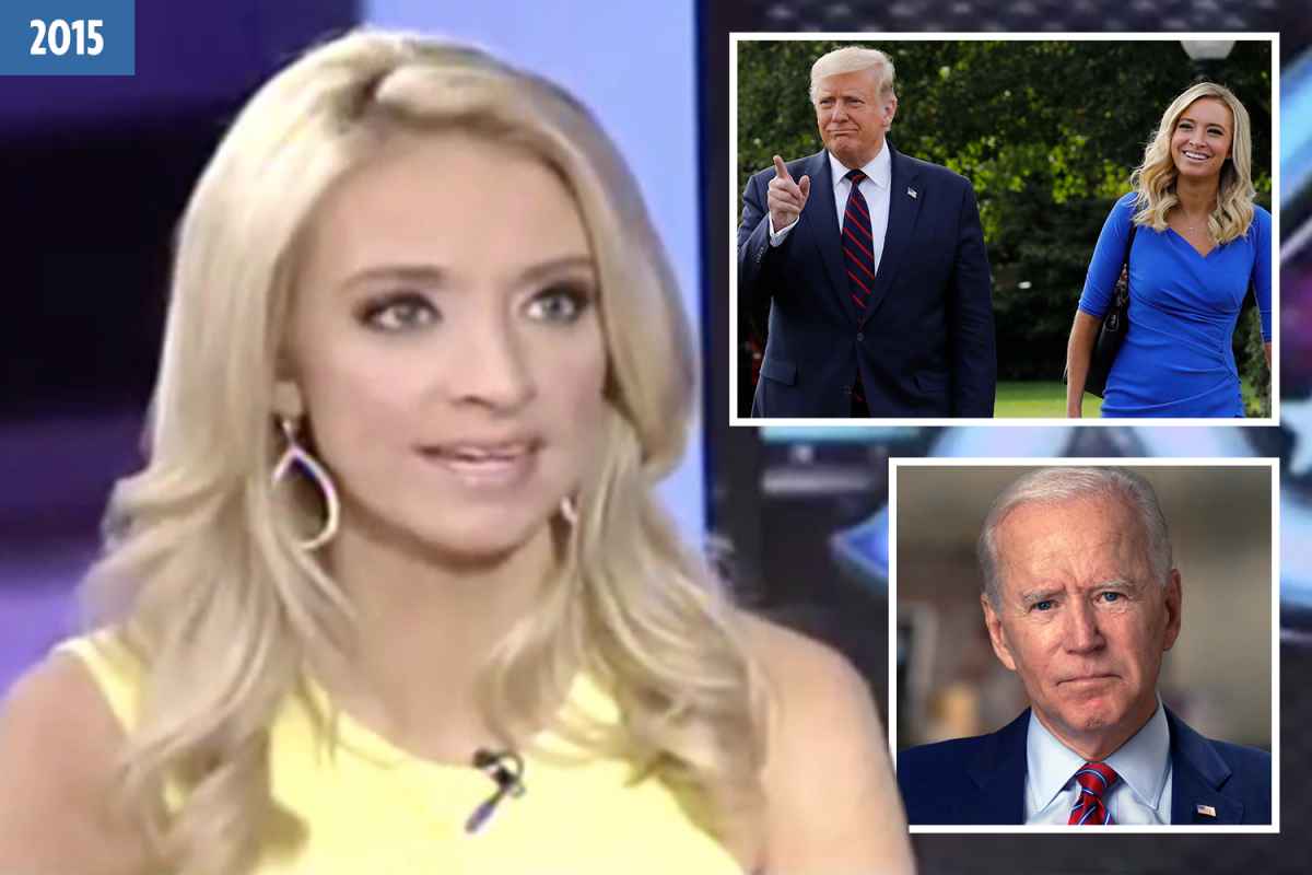 Press sec Kayleigh McEnany once PRAISED Biden as 'man of the people' who middle class would prefer over 'tycoon' Trump