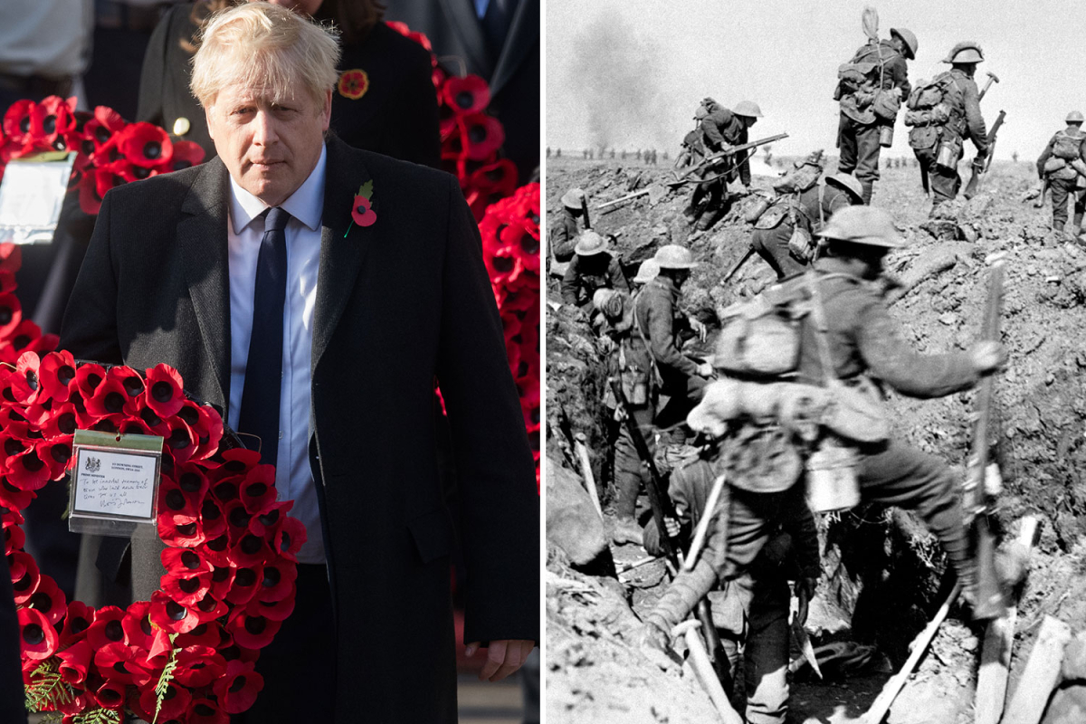 Remembrance Sunday could be marked with two-minute silence on doorsteps as Boris urges 'honour our veterans'