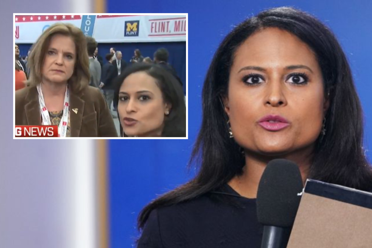 Trump-Biden debate moderator Kristen Welker caught on hot mic 'tipping off Hillary campaign to questions in 2016'