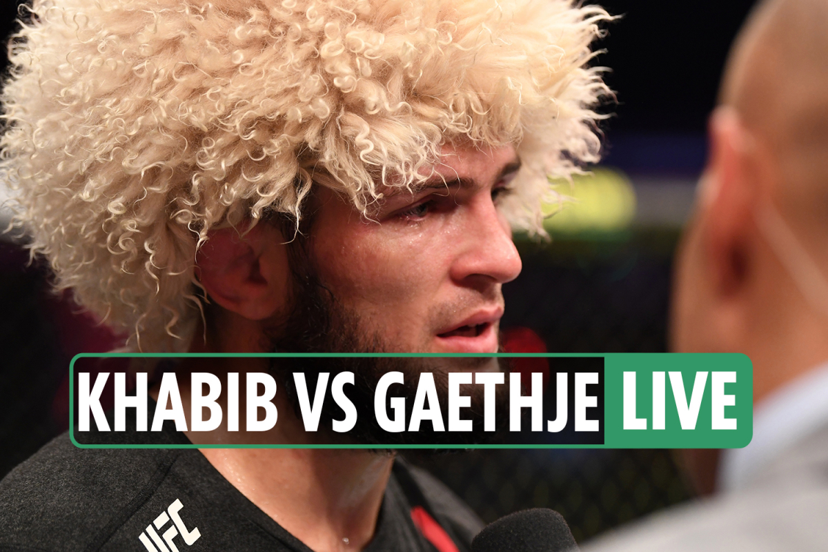 UFC 254 LIVE REACTION: Khabib 'had suffered BROKEN foot and toes' weeks before win, RETIRES in shock