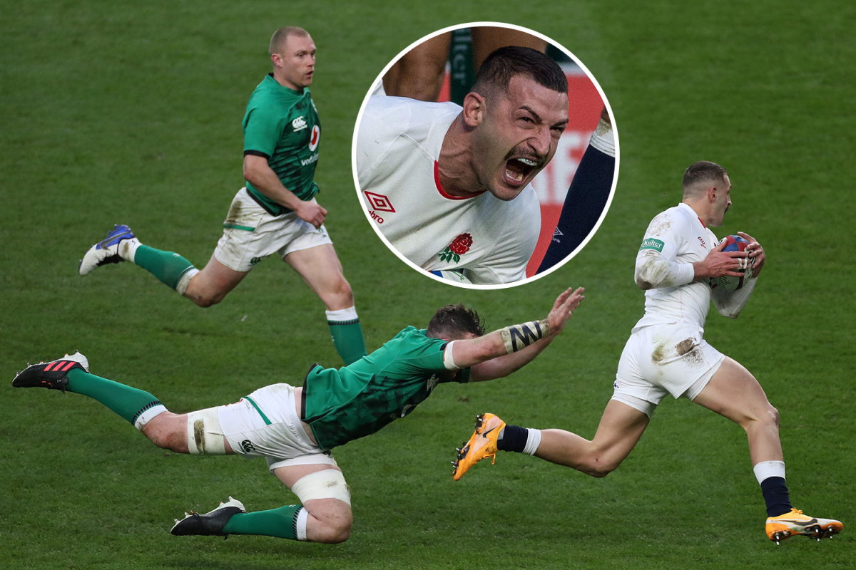 England 18 Ireland 7: Watch Jonny May score stunning solo try as Red Rose record dominant win in Autumn Nations Cup