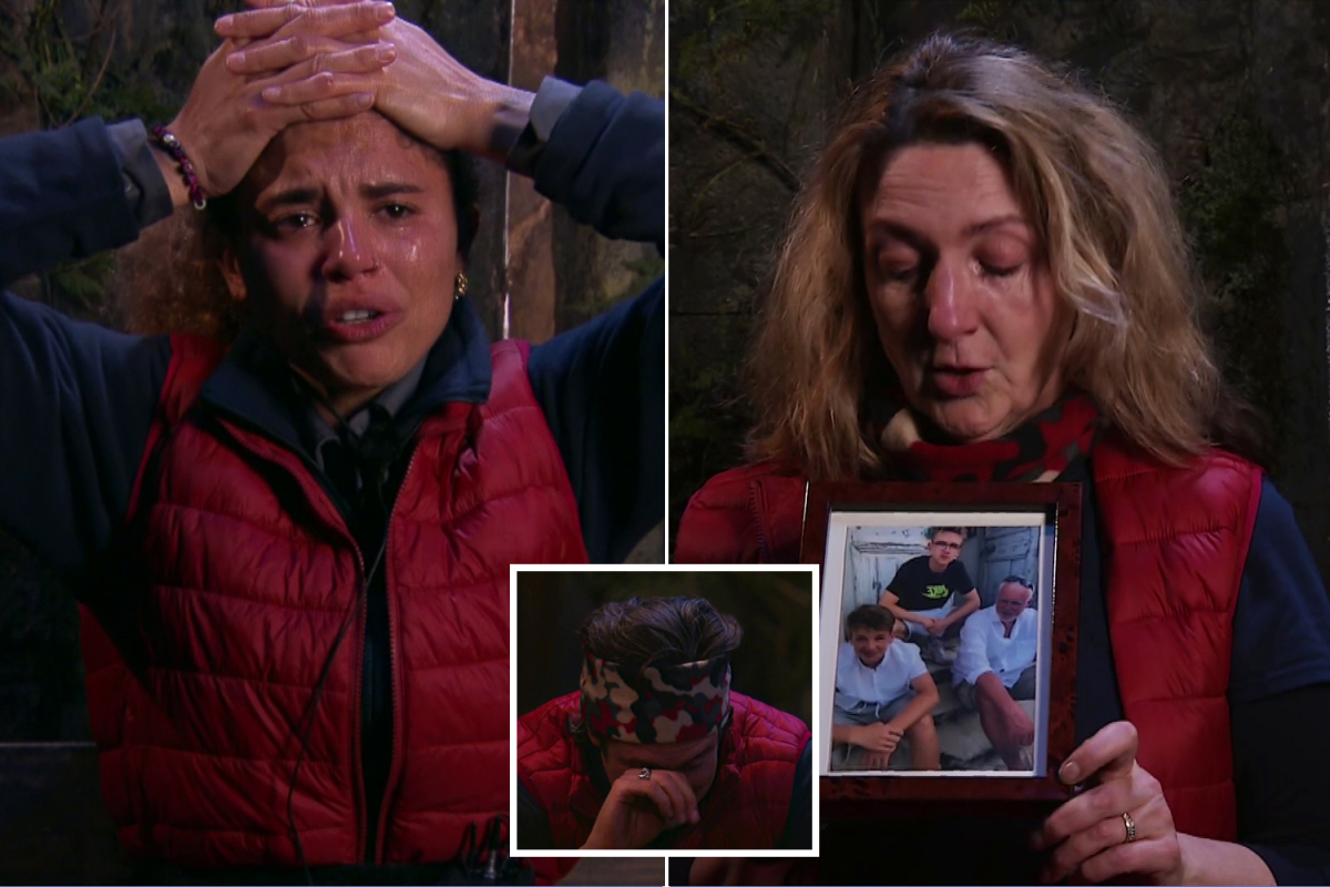 I'm A Celebrity stars in tears over luxury items as Vernon, Jessica and Victoria sob over gifts from their children