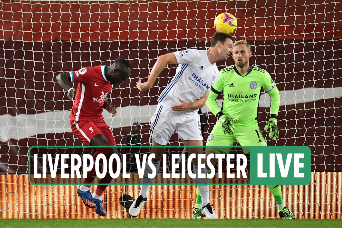 Liverpool vs Leicester LIVE: Stream, TV channel, score – Evans (og) and Jota put Reds in charge in Premier League